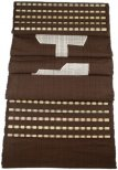 Hand Woven 100 Cotton Table Runner, Brown